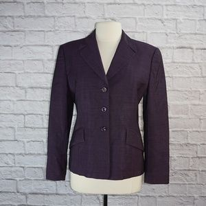 Escada Purple Blazer Jacket 40